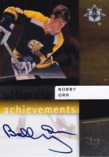 Upper Deck Ultimate Achievements 2007 08 Bobby Orr 3/3 numbered to 3 copies Rare