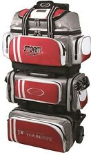 Storm Rolling Thunder Red/Grey/White 6 Ball Roller Bowling Bag