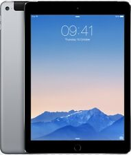 "Apple iPad Air 2 9.7"" 16GB WiFi + 4G Unlocked 8MP Cam Space Grey"