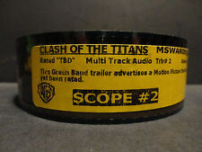 CLASH of the TITANS  35mm Movie Trailer  collectible film cells SCOPE 2min 18sec