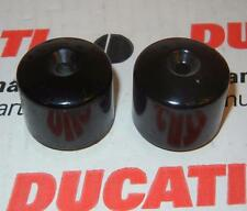 "Ducati & Honda handle bar end weights 6mm hole has 6 ounce weight fits 7/8"" bars"