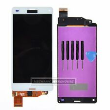 LCD Touch Screen Digitizer Display For White Sony Xperia Z3 Mini Compact D5803