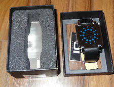 01 The One Gamma Ray Quadrato a Led Binario Orologio da polso modello: grq116b1