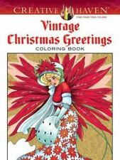 Creative Haven Coloring Bks.: Creative Haven Vintage Christmas Greetings...