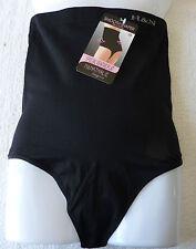 Gaine string Ventre plat serre taille minceur femme Noir taille XL/XXL (42) neuf