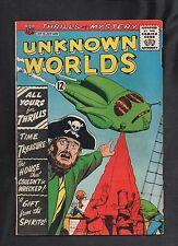 UNKNOWN WORLDS  #19 G  1962 ACG