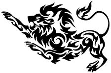 (Nr193) tribal tattoo tiger lion panther decal vinyl autocollant fenêtre camion voiture