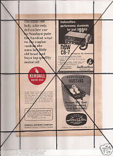 Vintage 1965 Popular Mechanics Magazine Ad A120 Lone Star Boats Mustang Kendall