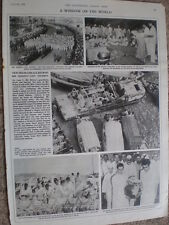 Photo article funeral journey of the ashes of Jawaharlal Nehru India 1964