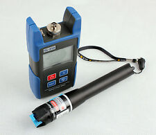 TL510 Optical Power Meter and 10mW Visual Fault Locator Fiber Optic Cable Tester