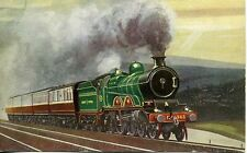 Great Central Marylebone Express Hadfield 4-4-2 No.363 Eric Oldham postcard
