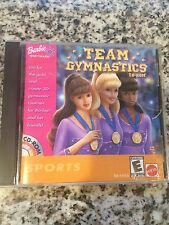 Tested Video Game - Barbie Team Gymnastics CD-ROM (PC, 2001) - Kids Free Ship