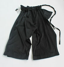 Yohji Yamamoto Y's Collection Black Pants SZ 2 - Open Size NEW $3895