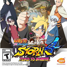 PS4 Naruto Ultimate Ninja Storm 4 Road to Boruto Games Bandai Namco PREORDER