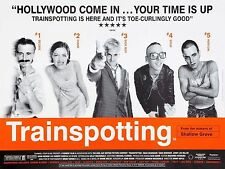 Trainspotting movie poster - 12 x 16 inches  - Ewan McGregor, Robert Carlyle
