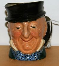 SMALL ROYAL DOULTON CHARACTER JUG MR MICAWBER D5843 ***EXCELLENT CONDITION***