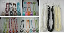 A-35 WHOLESALE LOT10 PCS FASHION JEWELRY NECKLACE SET WITH EARRINGS