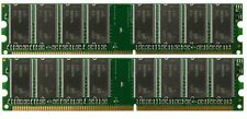 Low Density 2GB KIT 2x1GB PC3200 DDR400 Dual Channel 184pin DIMM Memory DDR