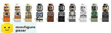 Lego Star Wars 3866 - Complete 10 Microfig Micro Figures Minifigure - New