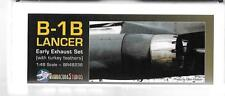 Barracuda Studios B-1B Lancer Early Exhaust  Upgrade 1/48 236 For Revell Kit ST
