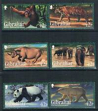 Gibraltar 2011 Endangered Animals 6v set SG 1408/14 MNH