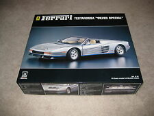 "Pocher Ferrari Testarossa K61 ""Silver Special""  model kit 1:8 scale -Unstarted"