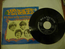 "THE MONKEES""IT'S NICE TO BE WITH YOU-disco 45 giri RCA Ger 1968"""