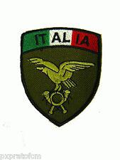 Patch Alpini Esercito Italiano Bandiera Verde Scudetto per Mimetica Vegetata