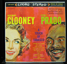 Rosemary Clooney / Perez Prado ‎- A Touch Of Tobasco LP VG+ 1s/1s Living Stereo