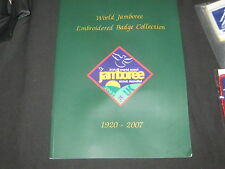 World Jamboree Embroidered Badge Collection 1920-2007          DE6