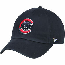 Chicago Cubs '47 Crawling Bear Clean Up Adjustable Hat - Navy - MLB