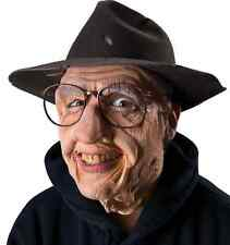 Gramps Old Man Face Mask Fancy Dress Halloween Costume Makeup Latex Prosthetic
