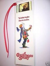 CHRISTMAS STORY Movie Film Cell Bookmark Collectible Memorabilia Cinema