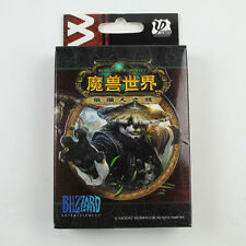 one Deck New WOW World of Warcraft Mist of Pandaria playing cards poker cards