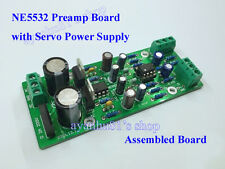 NE5532 Audio Pre-AMP Preamplifier Amplifier Board with Servo Power Supply Module