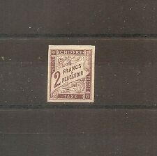 TIMBRE COLONIES GENERALES FRANKREICH KOLONIE TAXE N°16 NEUF* MH