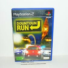 JEU PS2 COMPLET DOWNTOWN RUN