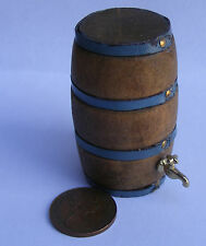 1:12 grande in legno verticale BEER BARREL & RUBINETTO DOLLS HOUSE miniatura Accessorio SA