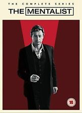 THE MENTALIST Stagioni 1-7 Serie Complete BOX 34 DVD in Inglese NEW .cp