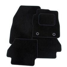 Perfect Fit Black Carpet Car Mats Set for BMW 3 Series (E90) 2005  with Heel Pad