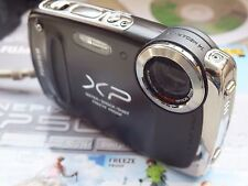 Fujifilm FinePix XP50 14.4MP Cámara Digital-Resistente Al Agua-Full HD Movie-Negro
