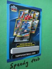Topps Champions League 2016 17 limited Exclusive Edition GOLD Code Card 2017