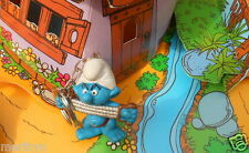 20228 Schtroumpf fitness pitufos puffo smurf puffi schtroumpfette T RARE 1987