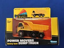 1982 Kenner Power Movers heavy load Dump Truck No. 72240 MISB Factory Sealed