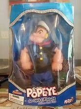 Popeye the Sailor Man action figures - a classic since 1929 -  Mezco Toys - 2001