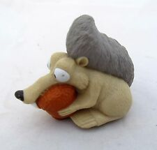 Nutz Nuts Scrat Squirrel Toy Acorn Ice Age Figure Figurine Birthday Cake Topper
