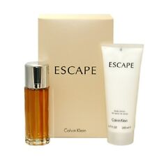 ESCAPE by Calvin Klein 2 PCS GIFTSET 3.4 oz EDP SPRAY + 6.7 oz BODY LOTION WOMEN