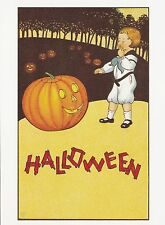 (P017) Postcard - Halloween #28 (modern card)