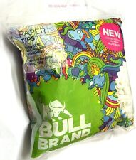 1 x BULL BRAND 600 Bag KING SIZE PRE-ROLLED 6mm TIP PAPER ROACHES ROACH TIPS