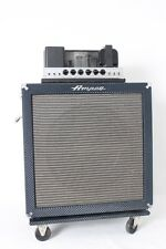 1965 Ampeg B-18N Portaflex Blue Fliptop Bass Amplifier